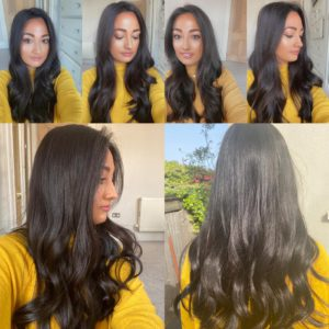 """""""COCOA"""" Luxury Topper, Shimmering dark brown shade,  8×8″ Silk Toppers,  Very Flat, Natural, Comfortable, high quality grade hair, 2 Lengths"""
