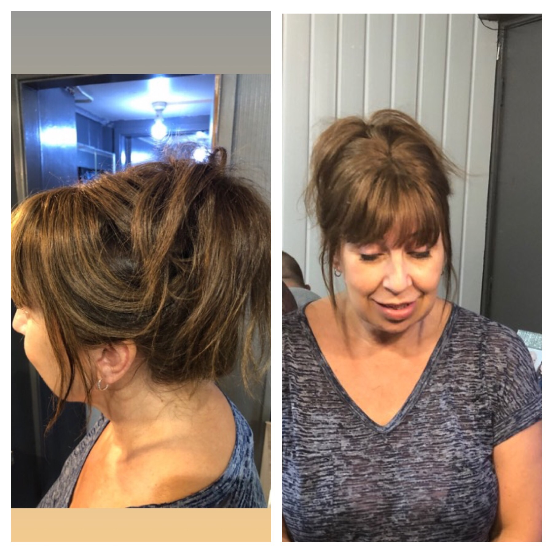 hair topper with fringe bangs