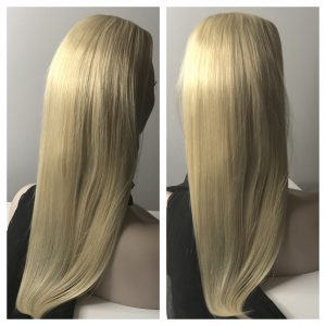 long blonde hair filler