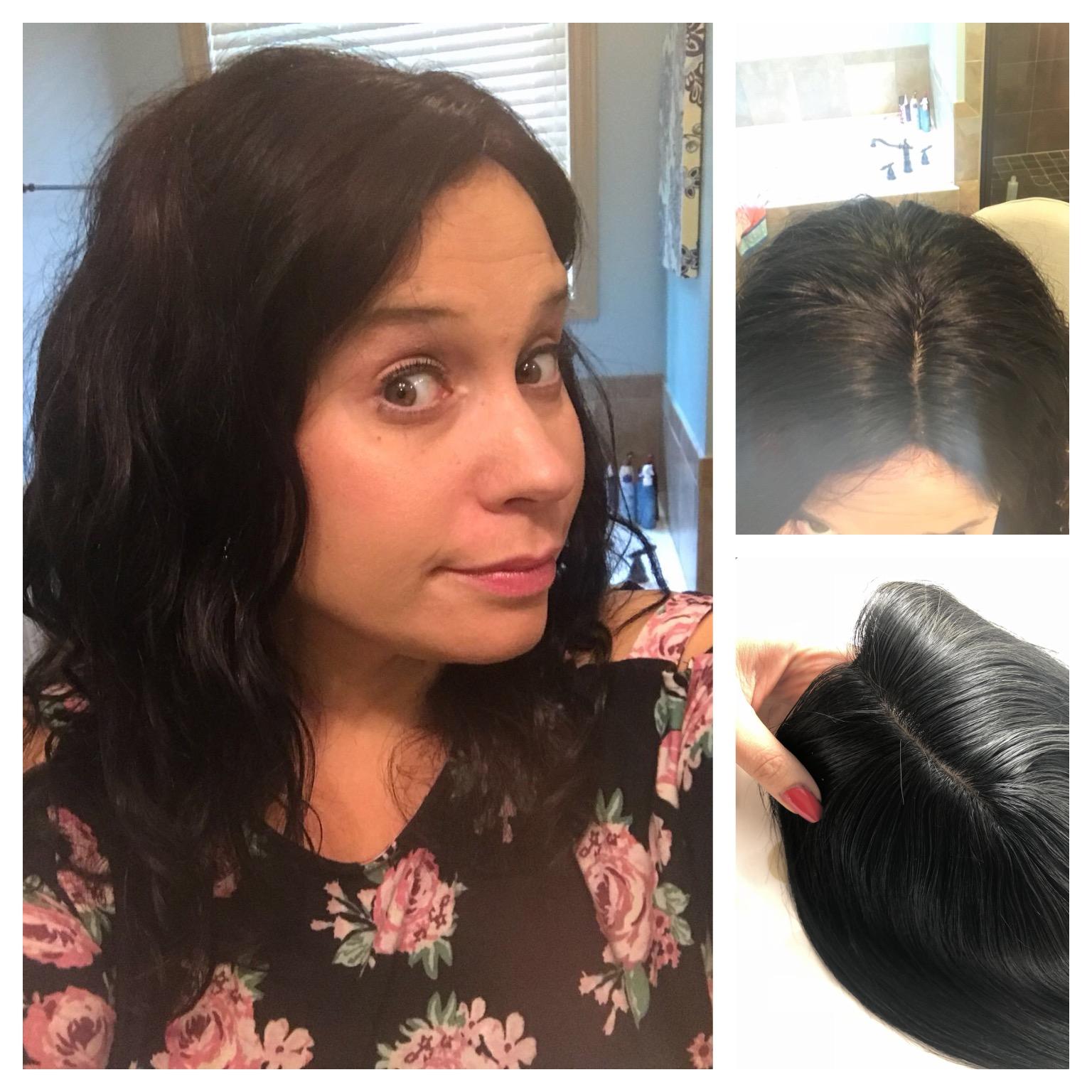 silk hair topper thin hair