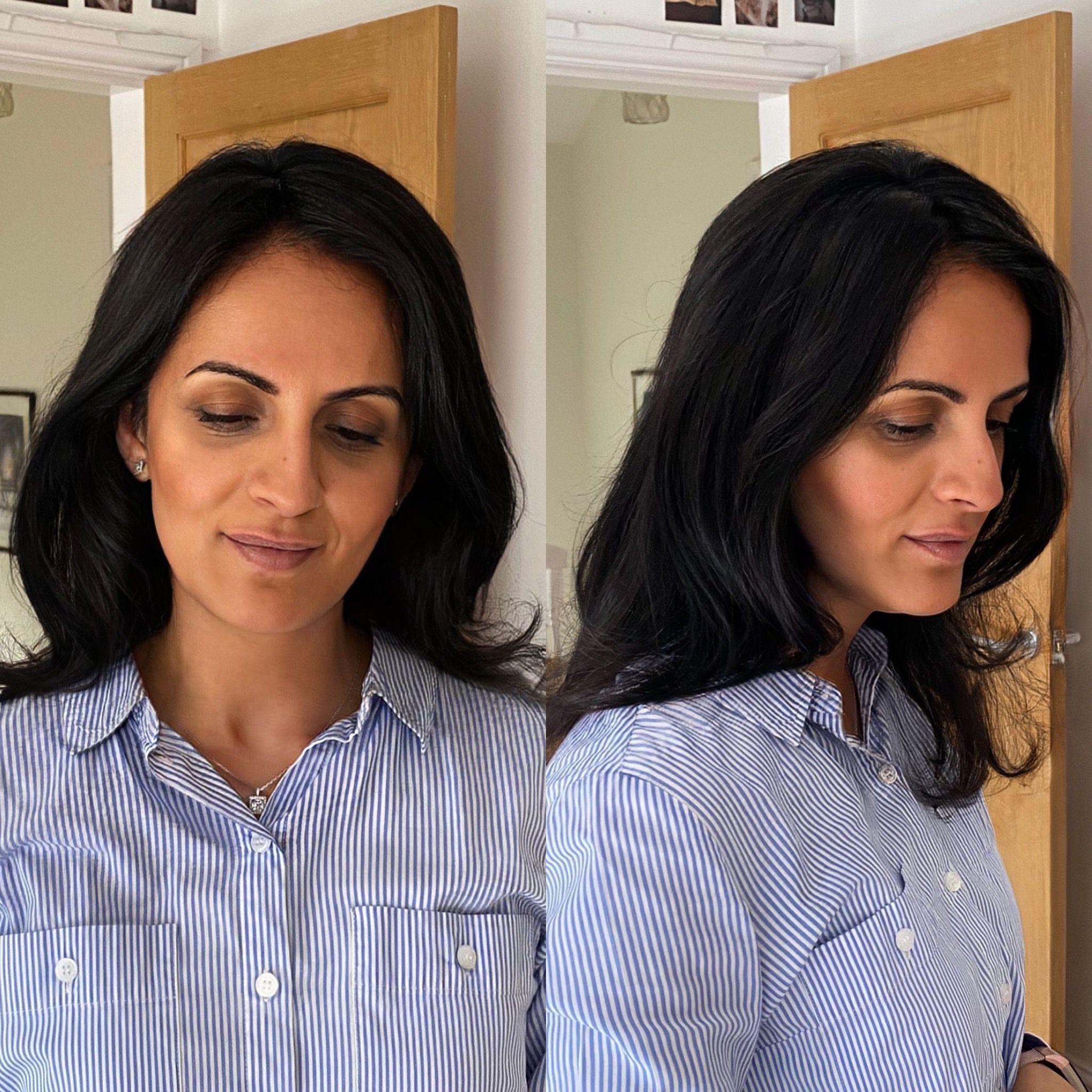 natural hair topper uk women