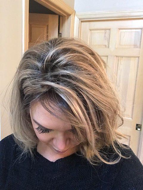 Silk Base Parting small topper hair loss women easipart