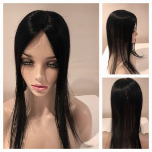 small hair topper hair loss women hairpiece real hair thin thinning