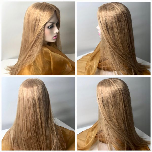 topper silk base hair loss women thin thinning hairpiece wig closure wiglet