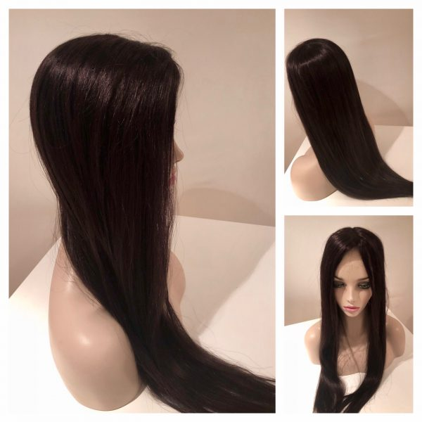 topper silk base hair loss women thin thinning hairpiece wig closure wiglet trichotillomania alopecia